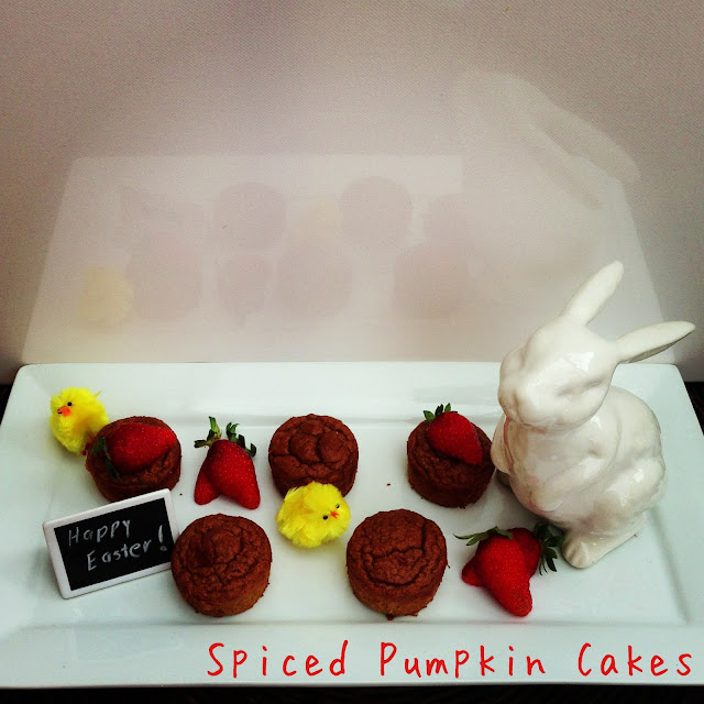 breakfast cakes : spiced pumpkin cakes >> STARTS WITH CUPCAKES