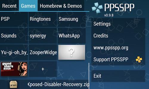 cara pasang emulator PSP PPSSPP
