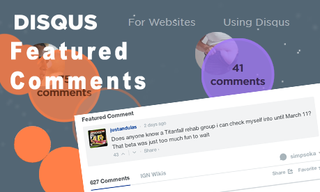 disqus featured comment cover