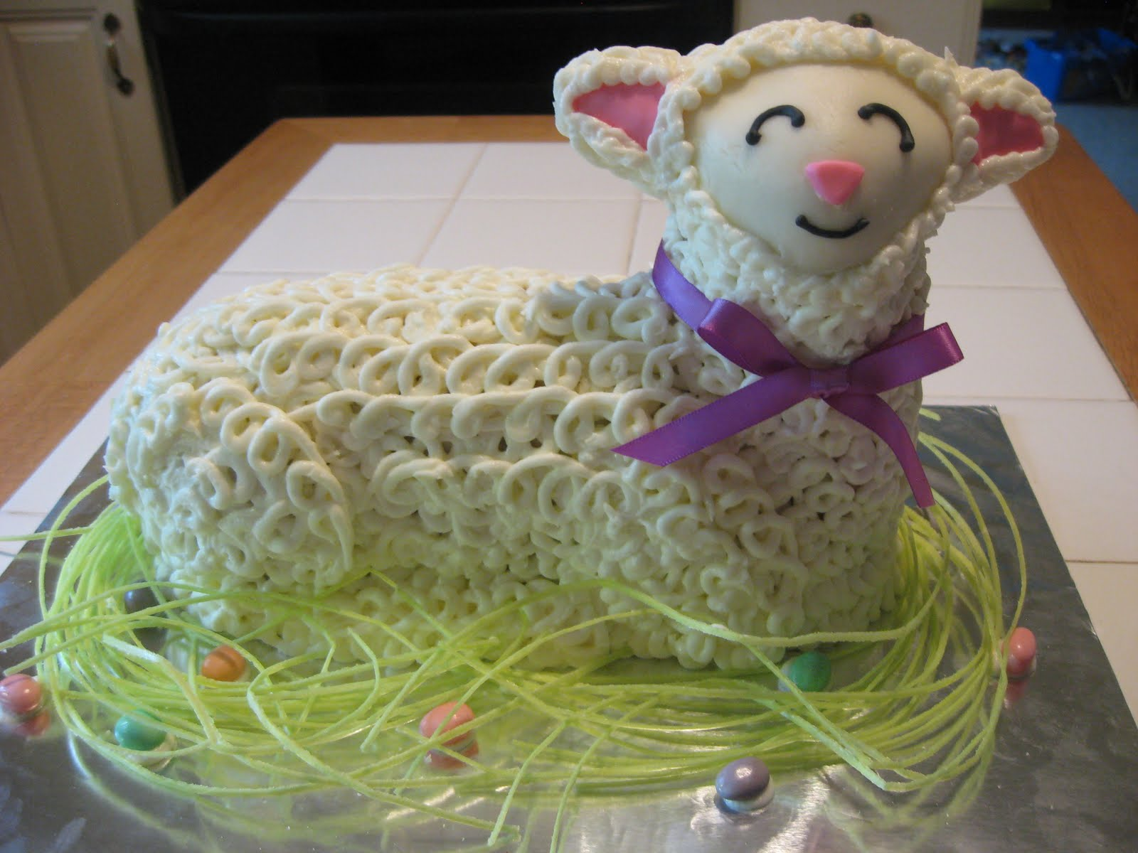Cookies in the Cupboard: Easter Lamb Cake