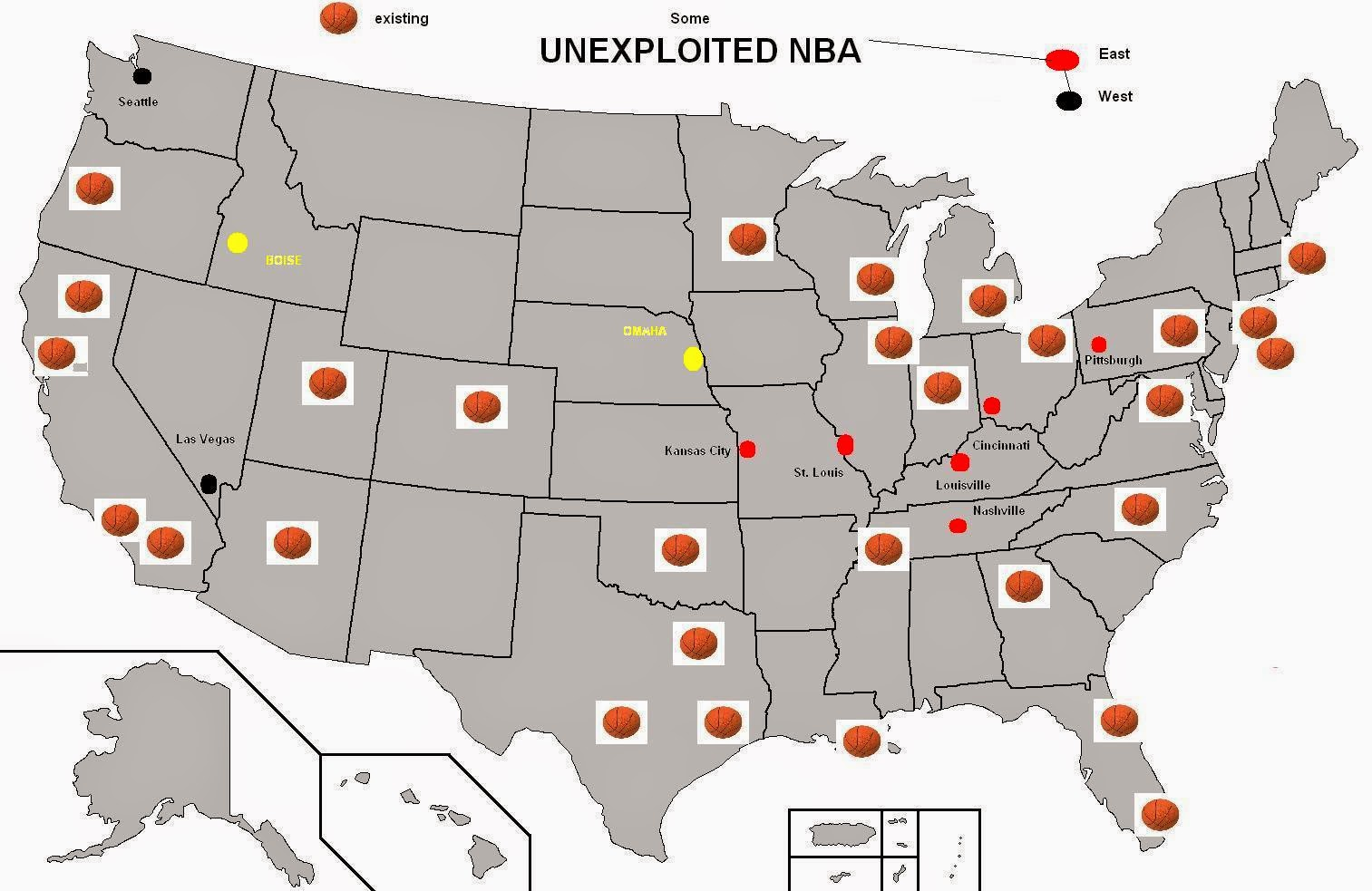 Best Image of Diagram Us Map Of Nba Cities - Millions ...