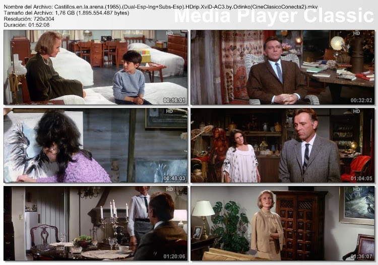 Capturas de pantalla: Castillos en la arena | 1965 | The Sandpiper