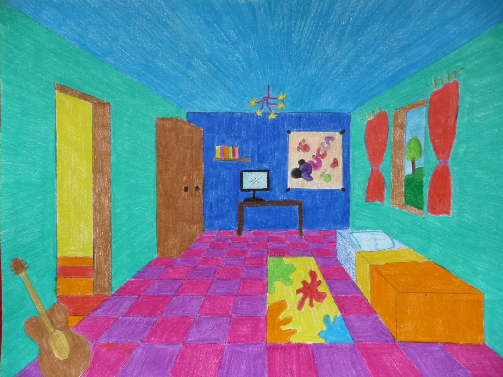 La prospettiva della stanza