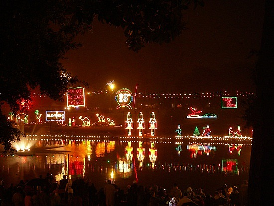 Christmas Lights In Louisiana