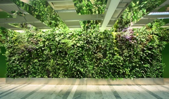 Modern vertical garden design home designs plans for Vertical garden designs