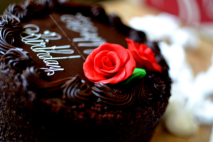 Birthday Chocolate Cake - Sharis Berries