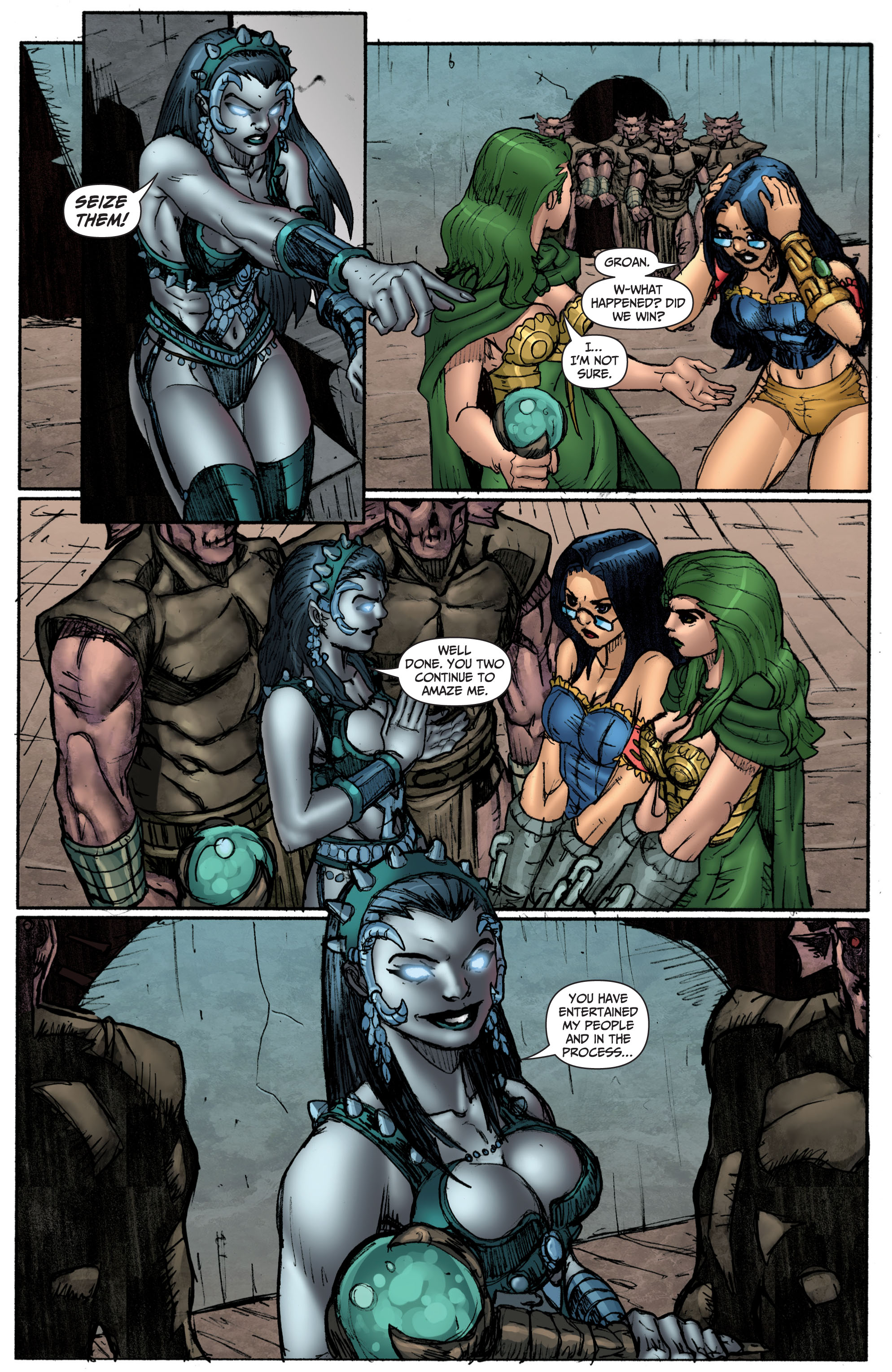 Grimm Fairy Tales (2005) Issue #69 #72 - English 18