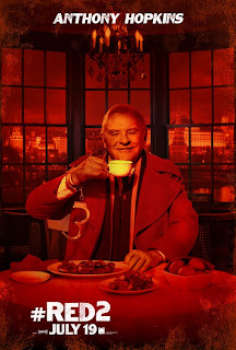 Anthony Hopkins RED 2 Poster
