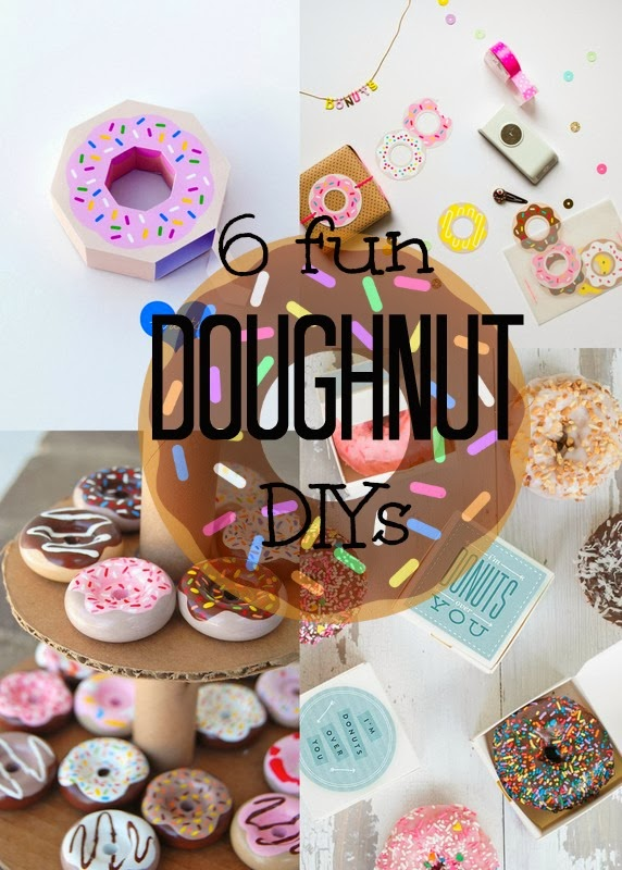 6 fun doughnut diy crafts