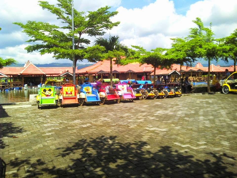 Becak Mini Wisata Untuk Anak-anak