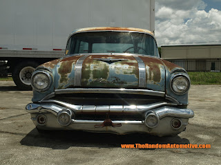 1955 pontiac safari station wagon retro collection abadoned florida