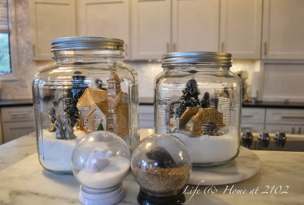 Christmas Kitchen Decorating