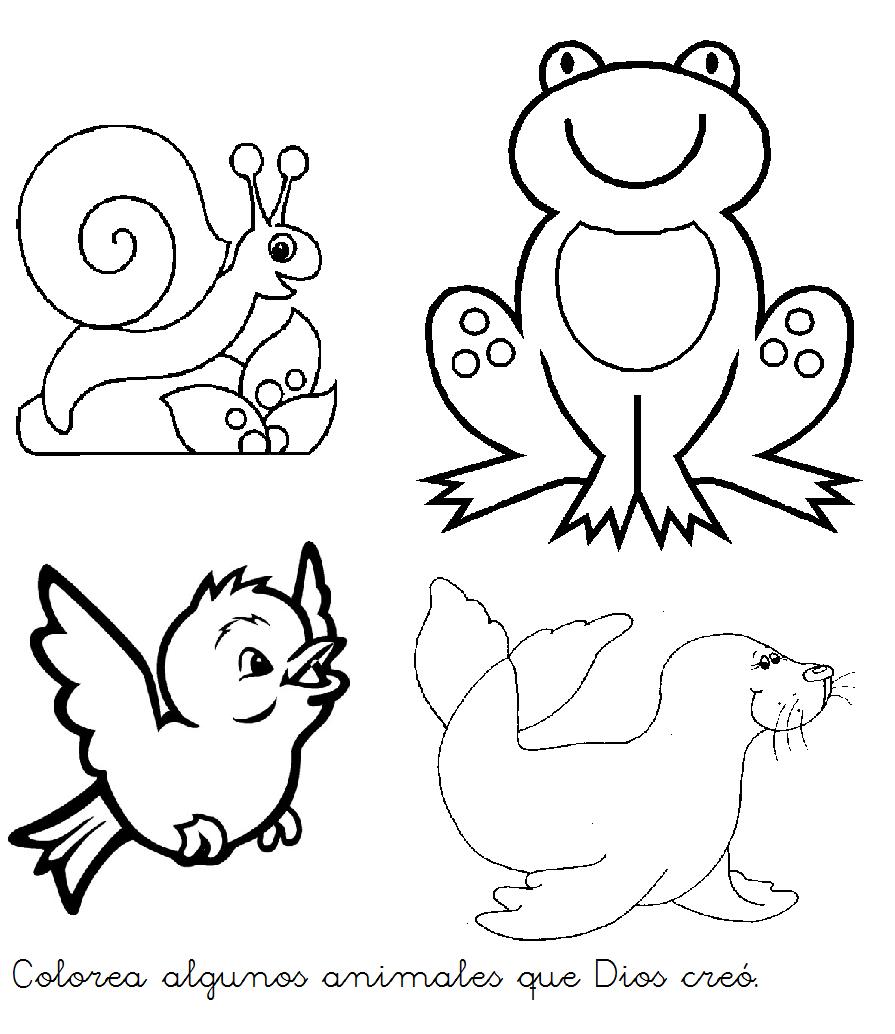 Imagenes para colorear de soy creacion de dios - Imagui