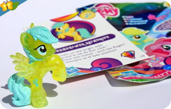 Figurine Sunshower Raindrops - My Little Poney - sachets mystère - série 10 - Hasbro
