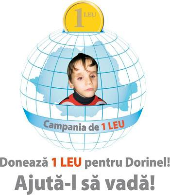Doneaza 1 Leu pentru Dorinel!