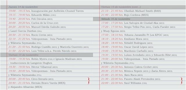 VERBO Festival de Poesía en el Centro Histórico