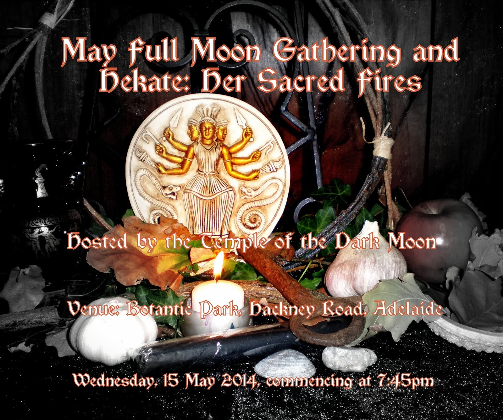 Hekate Her Sacred Fires and May Full Moon Gathering