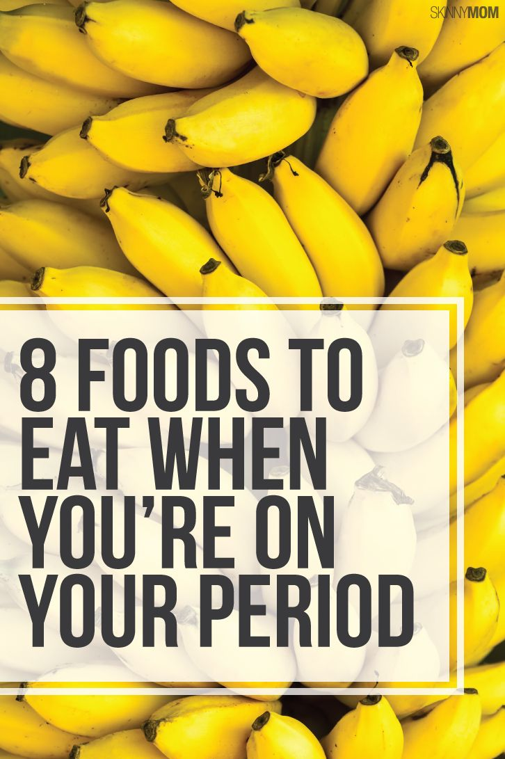 7 Foods to Help You Power Through Your Period
