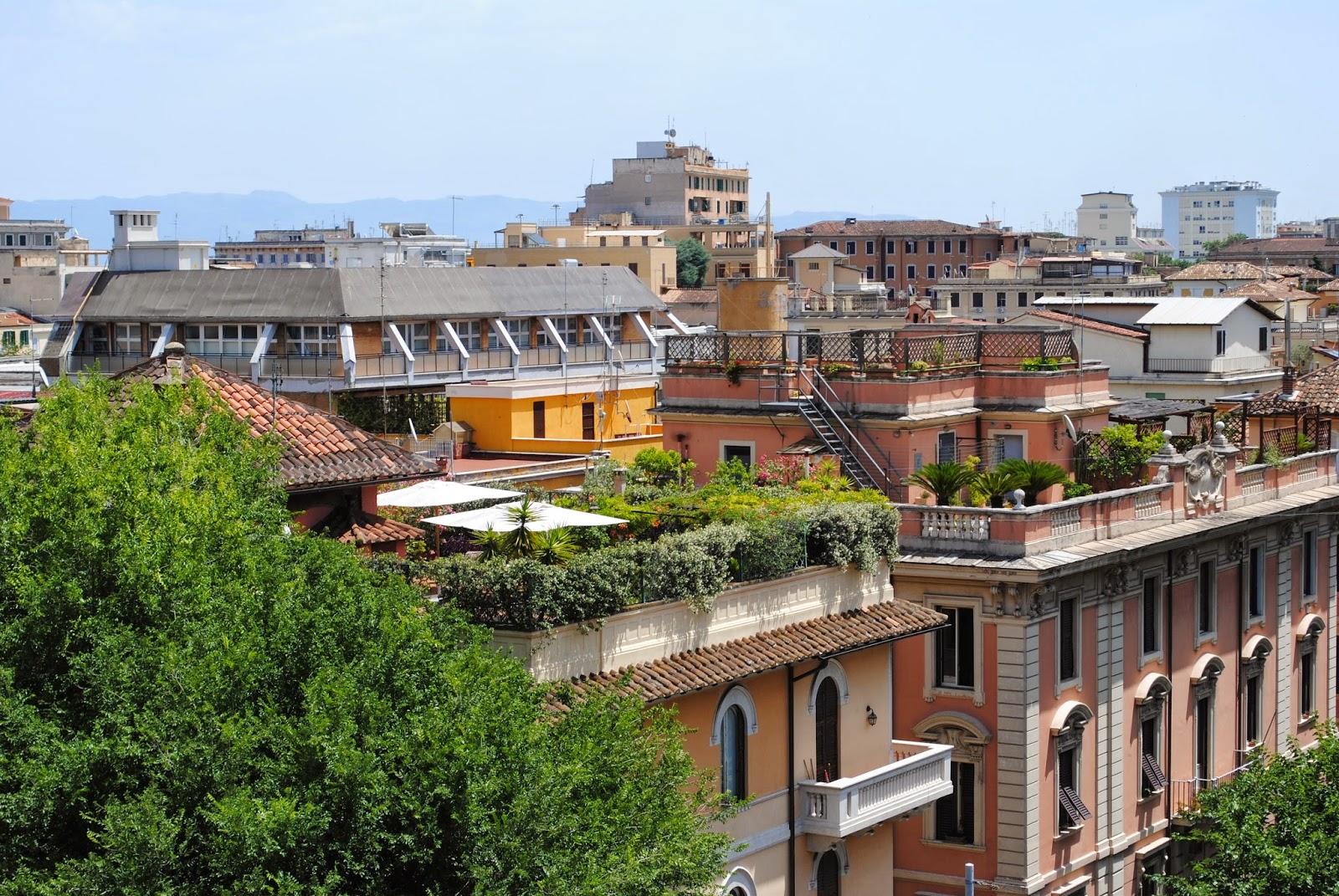 Te la do io la narrativa!: Una gita sui tetti di Roma