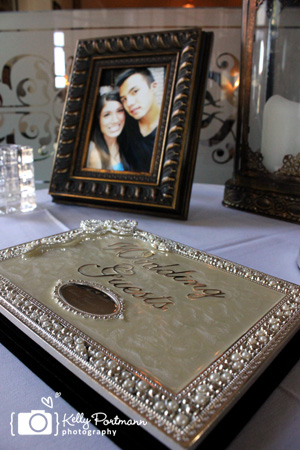 Wedding Guest Book, Frisco Wedding