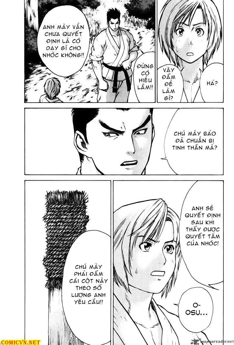 Karate Shoukoushi Kohinata Minoru chap 18 Trang 9