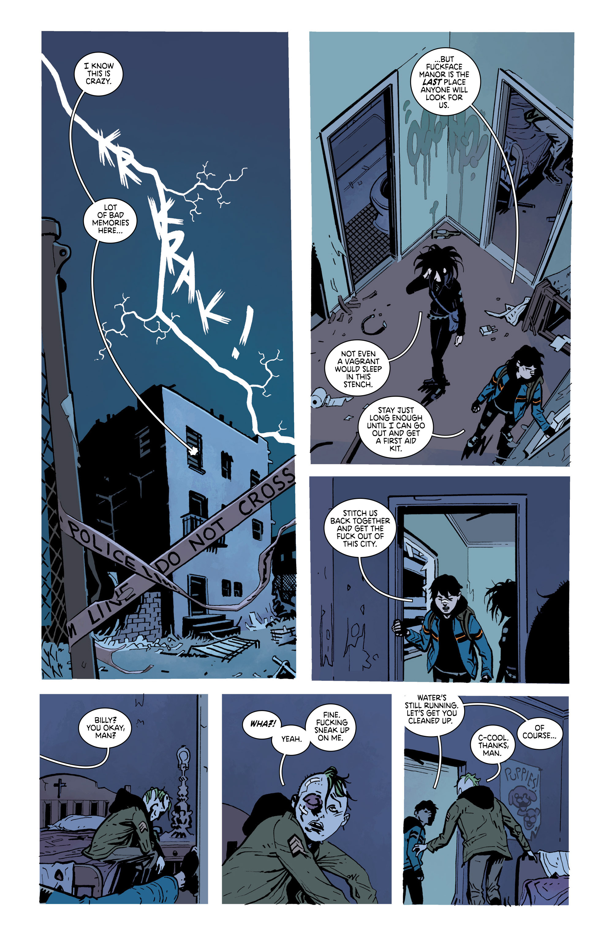 Read online Deadly Class comic -  Issue #19 - 25