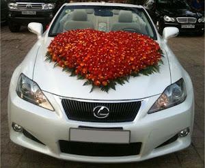 Hoa xe cưới MS005