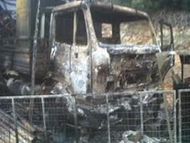 """Νέα εμπρηστική επίθεση κατά της """"Ελληνικός Χρυσός"""" στη Χαλκιδική"""
