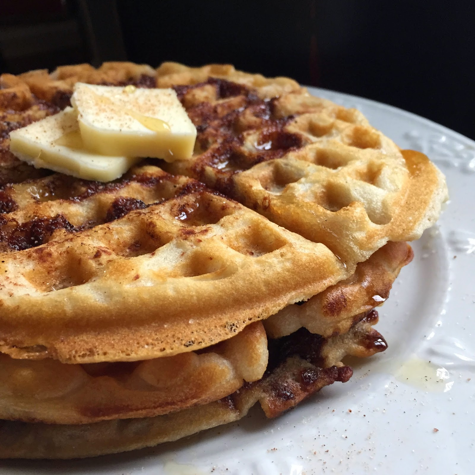 how to make waffles with just add water pancake mix