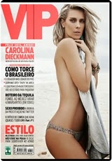 Revista Vip Carolina Dieckmann