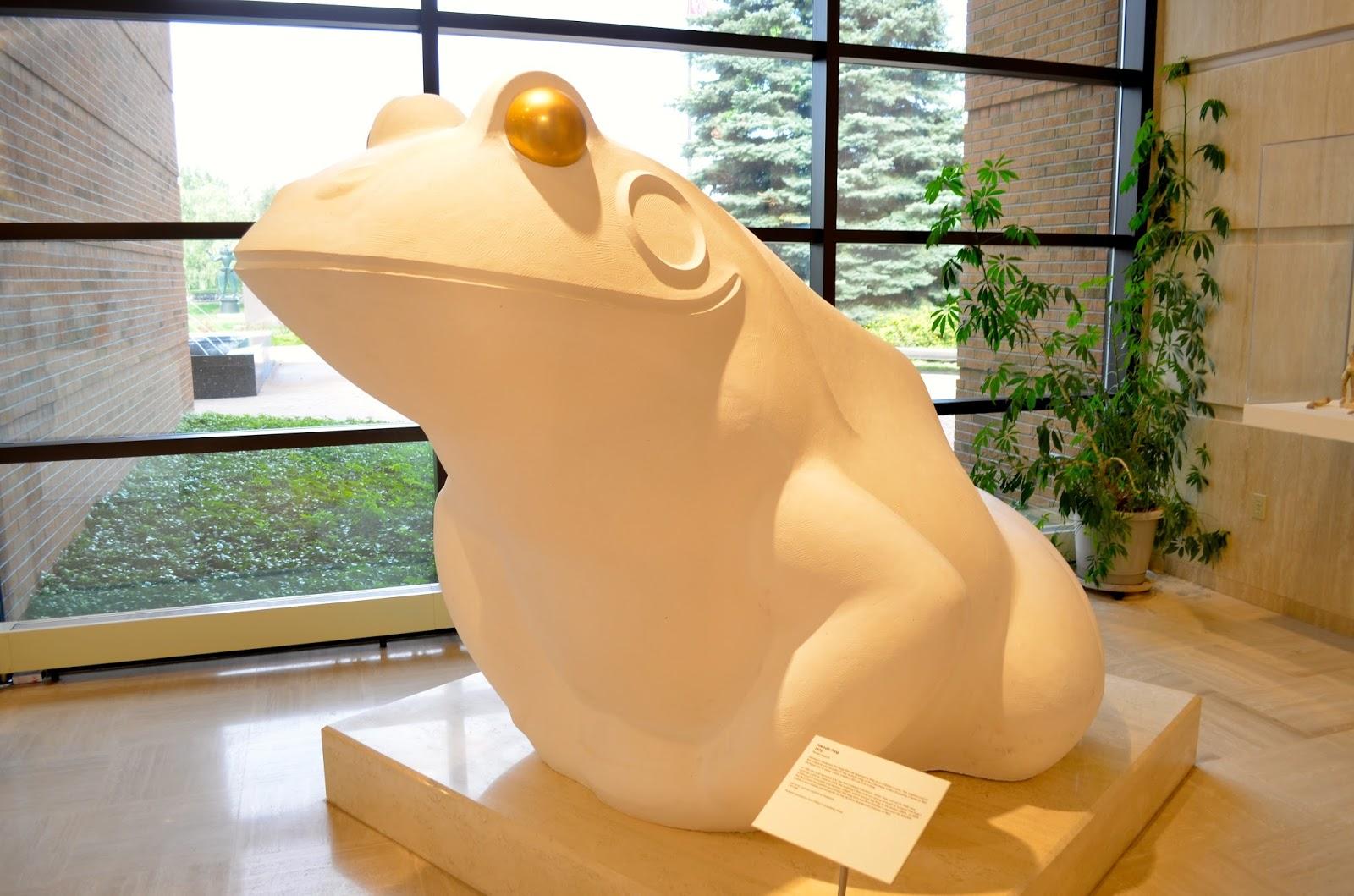 Marshall Fredericks Friendly Frog