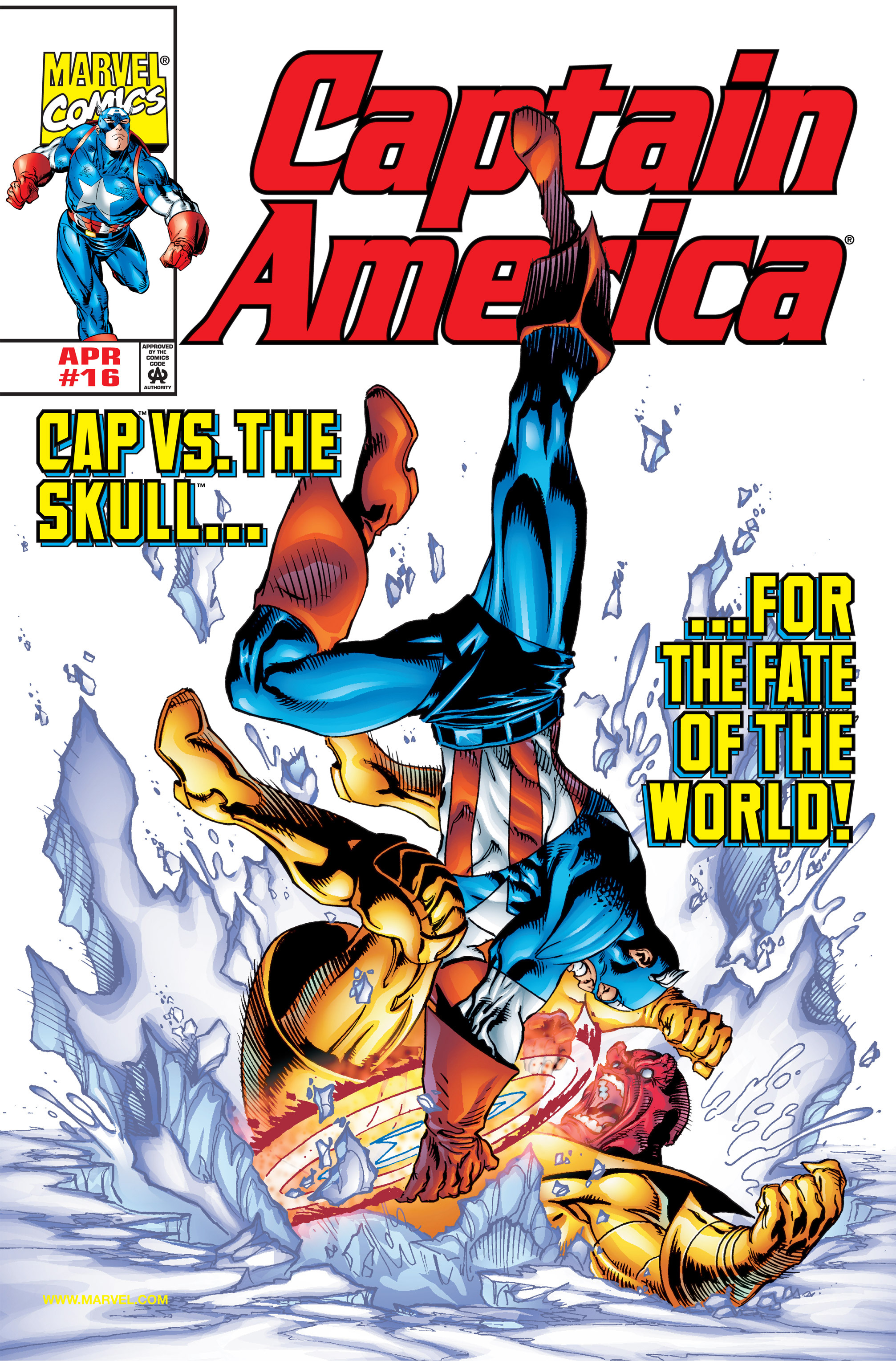 Captain America (1998) Issue #16 #22 - English 1