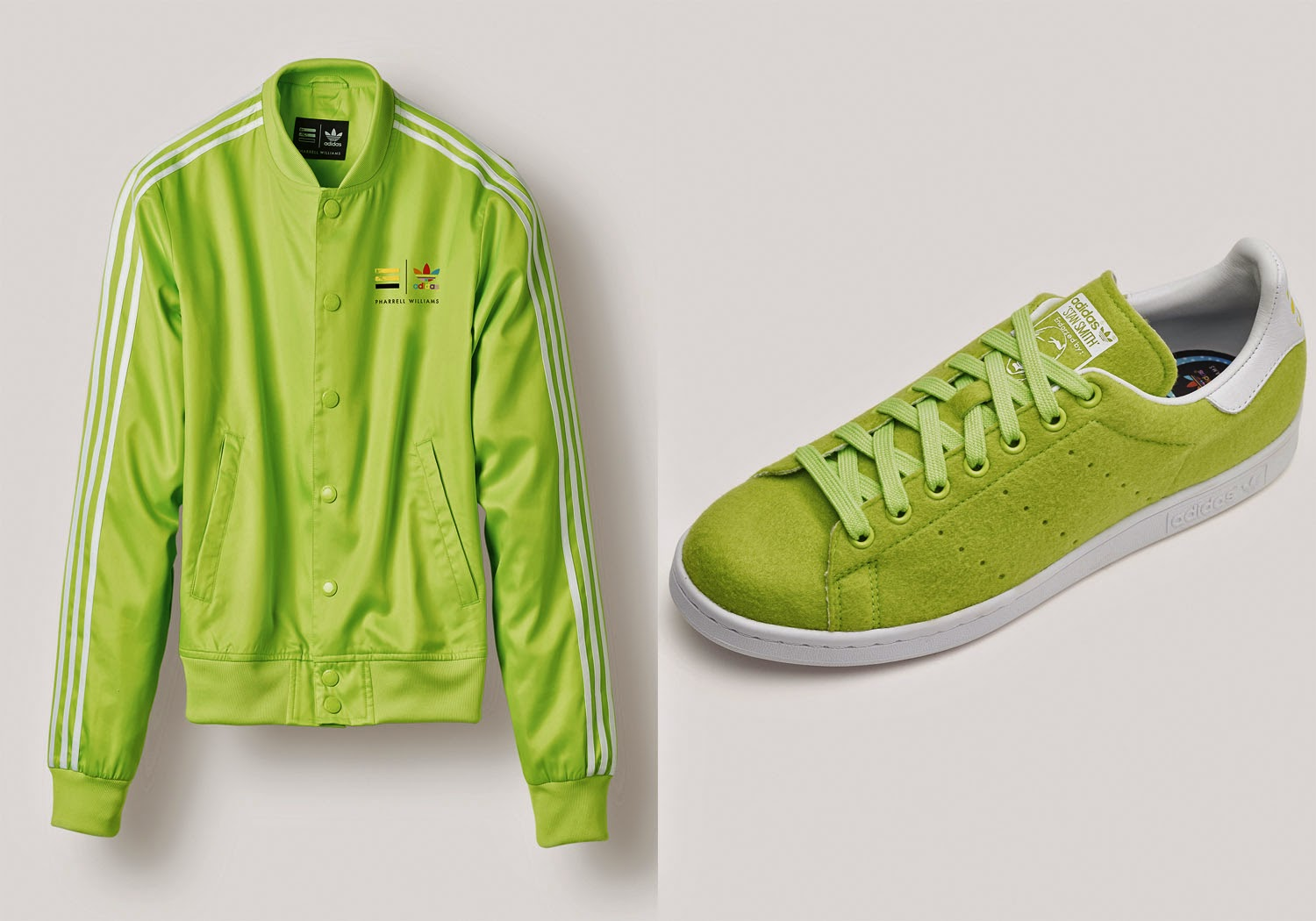 The collaboration between adidas and Pharrell Williams is built on a  vibrant sense of optimism, highlighting the importance of equality.