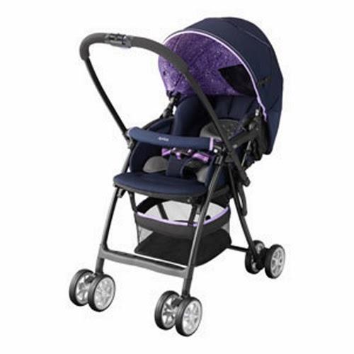Xe đẩy em bé Aprica Karoon PK màu tím