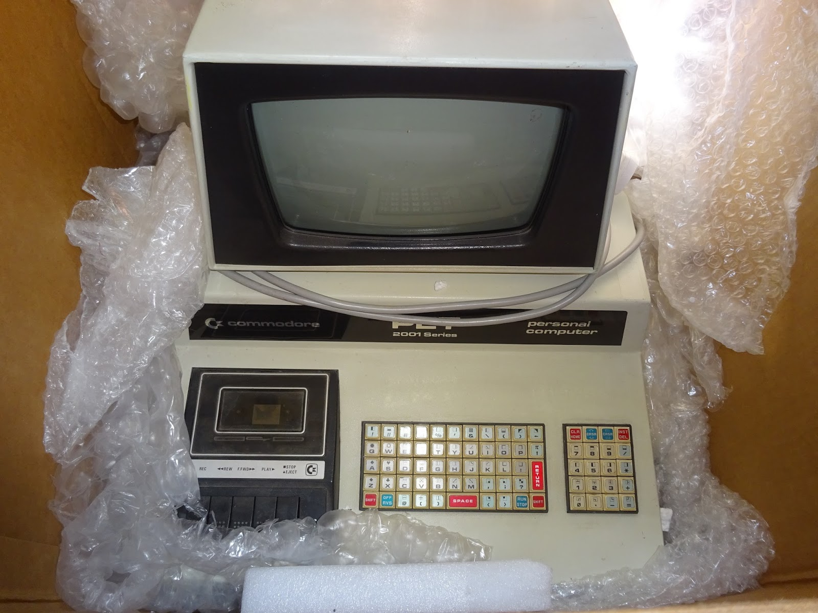 Tynemouth Software: Commodore Pet 2001-8 Repair - Part 1