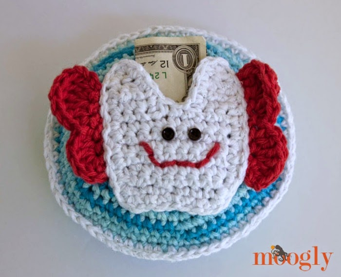 Crochet Tooth Fairy Pillow Repeat Crafter Me Bloglovin