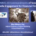 10 Commandments of Social Media for Financial Services