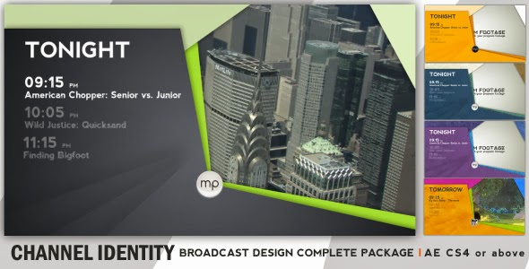 VideoHive Broadcast Complete Package - Channel Identity