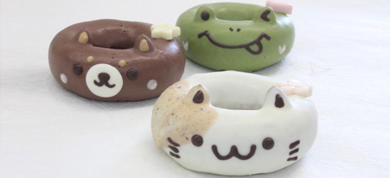 Donuts con forma de animal