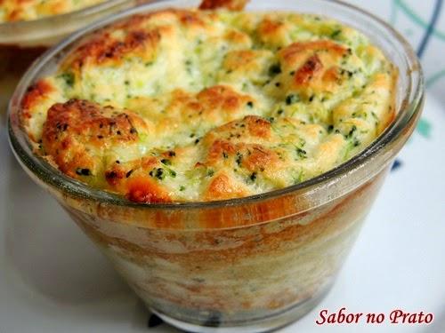 receita fácil de suflê de brócolis