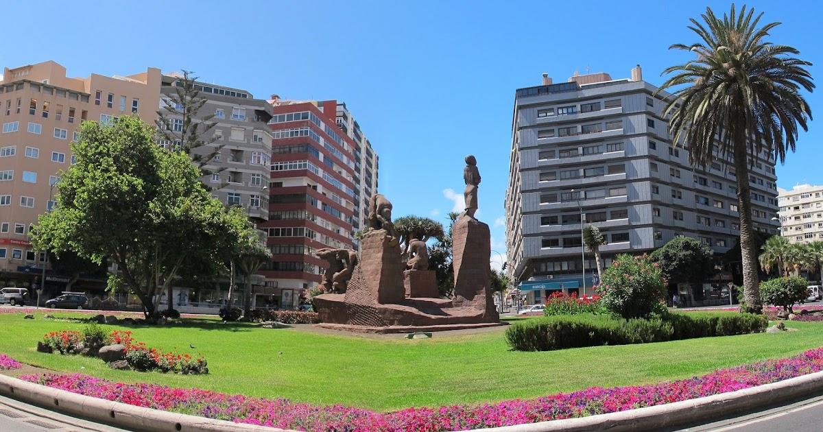 La escultura en gran canaria 39 monumento a las actividades for Cristalerias en las palmas de gran canaria
