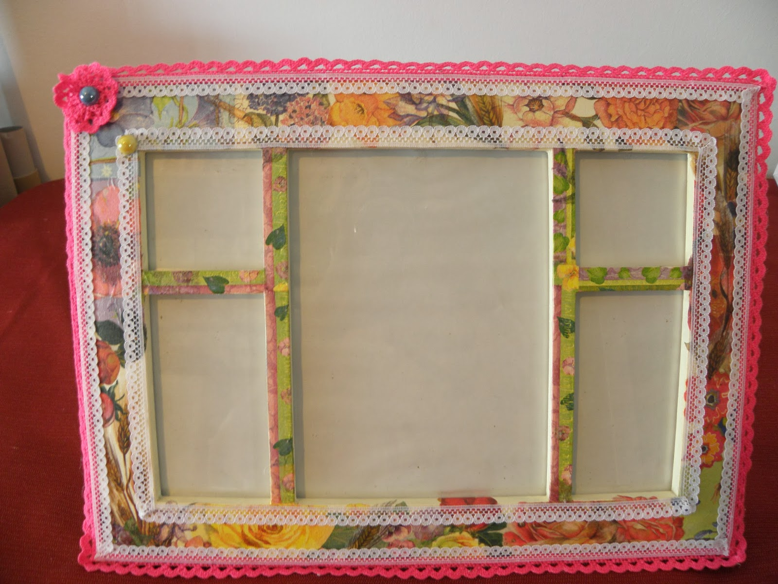 Marcos para espejos manualidades imagui for Espejos con marcos decorados