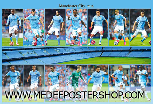MANCHESTER CITY Poster - 88087
