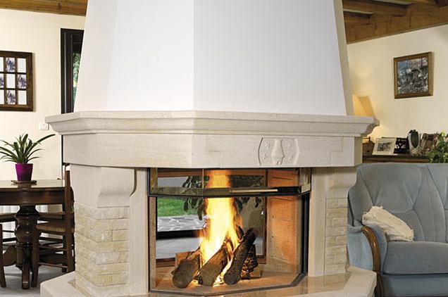 Fotos de chimeneas construccion chimenea obra - Chimeneas de obra ...