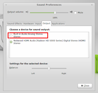 Linux mint no sound