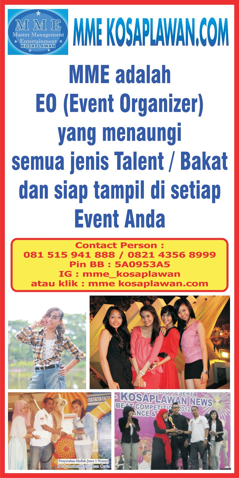 Job for Event