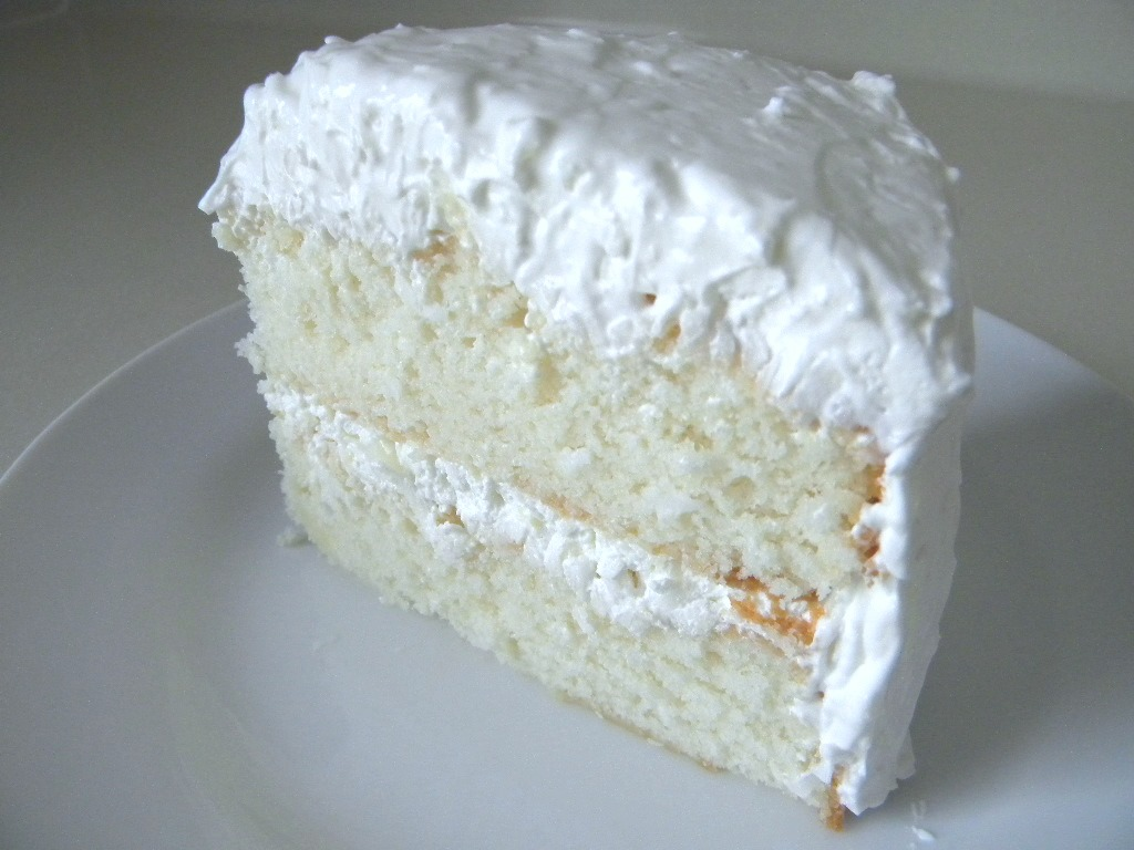 Sour Cream Chocolate Cake With Coconut Frosting Recipe ...