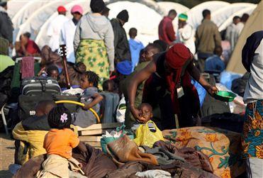 """Milhares de deslocados no Corno de África podem ficar """"eternamente"""" em campos - FAO"""