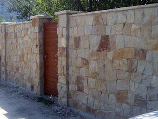 Каменный забор. Фото 24