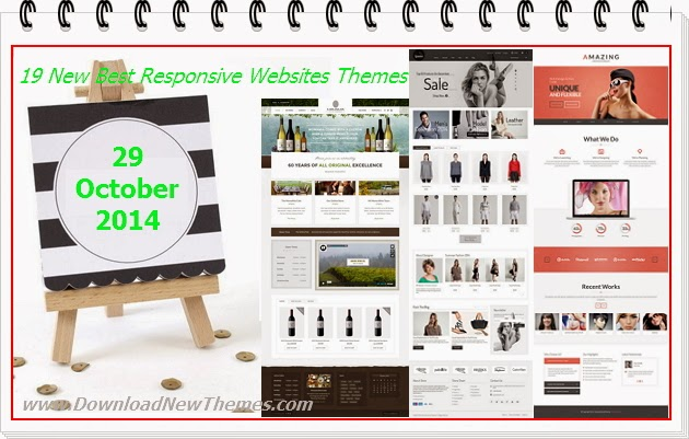 New Best Responsive Websites Themes